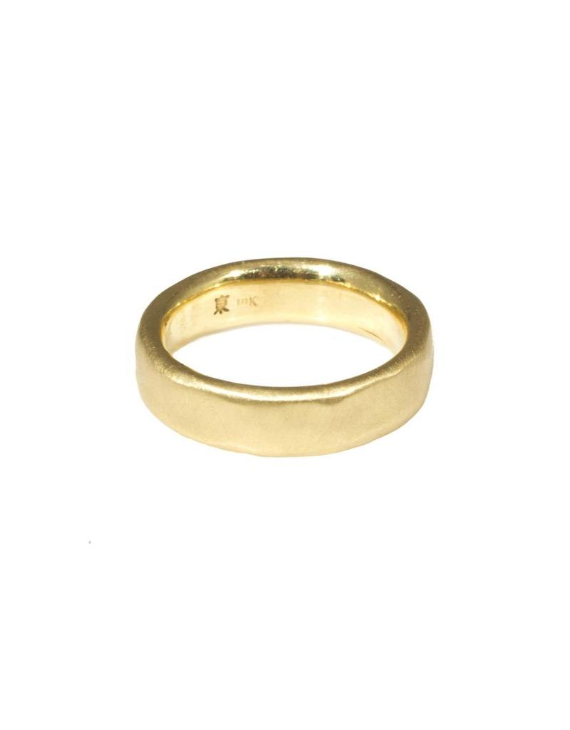 6mm Modeled Band in 18k Yellow Gold