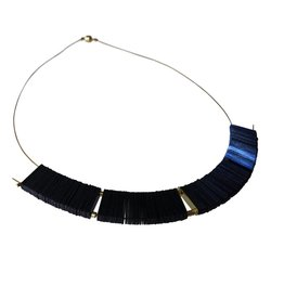 Midnight Arch Sequin Necklace