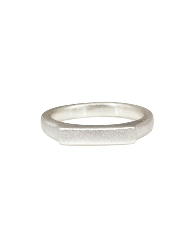 3.75mm Thin Channel Ring in Silver