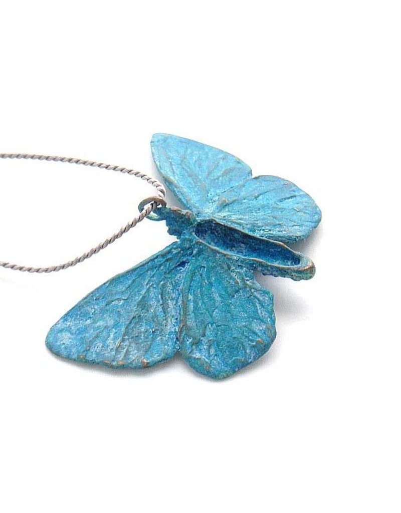 Adonis Butterly Brooch in Silver