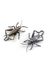 Cricket Brooch  in Bronze Lapel Pin