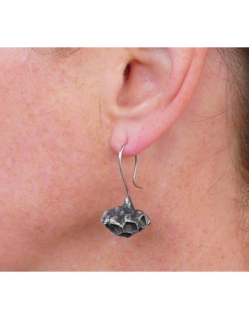 Paper Wasp Nest Earrings
