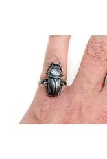 Scarab Beetle Ring