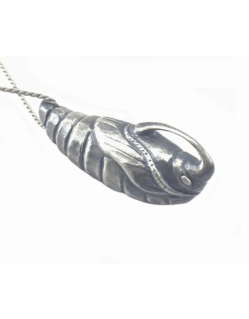Sphinx Moth Pupa Necklace