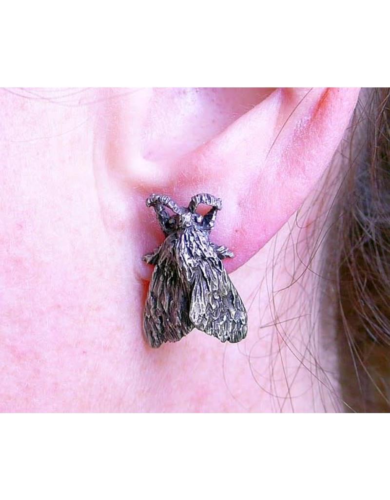 Tiger Moth Earrings