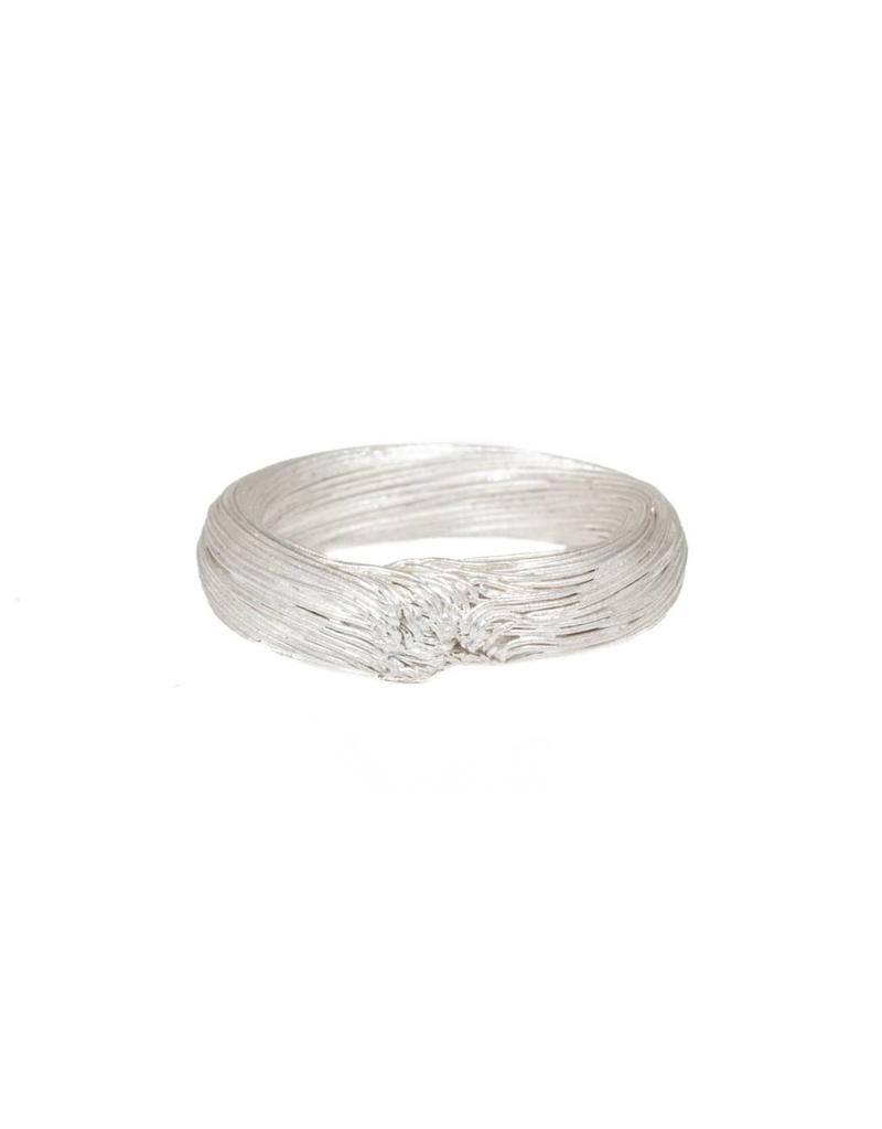 Medium Knot Ring in Fine Silver