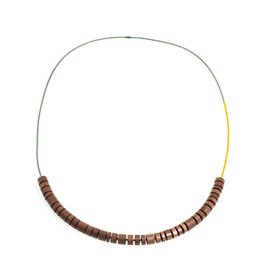 Rolo Necklace (Mustard/Pond)