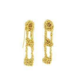 Temperance Earrings in 18k Yellow Gold Vermeil