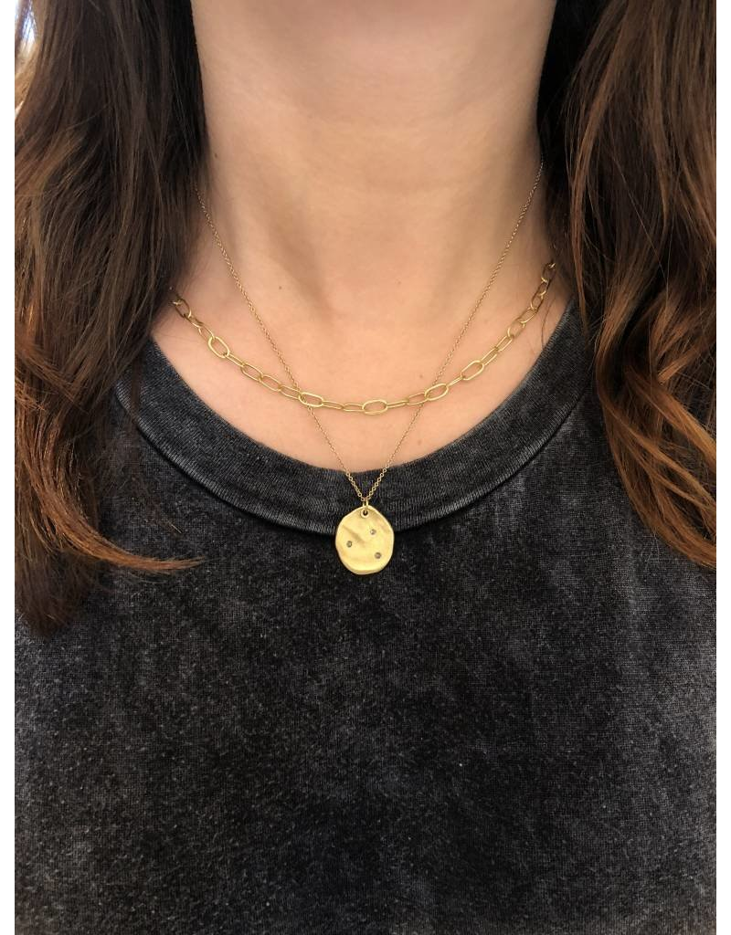 Handmade Oval Chain in 18k Yellow Gold