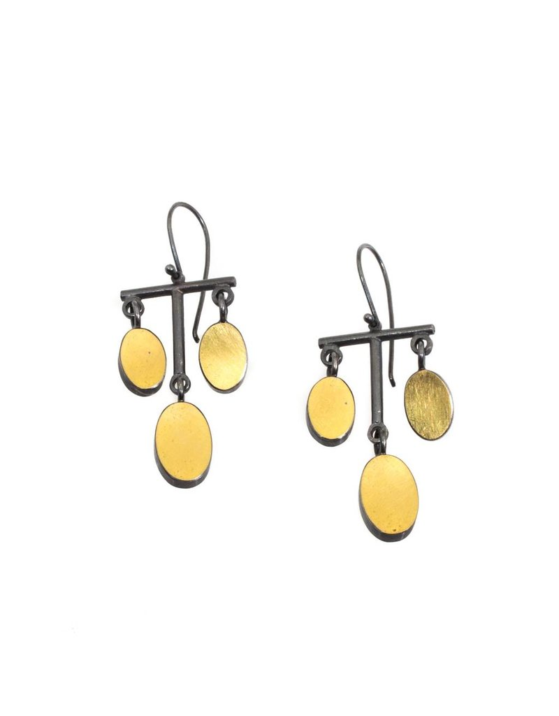 Oval Chandelier Earrings