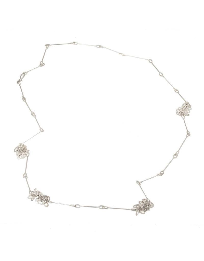 Long Scattered Fringe Necklace