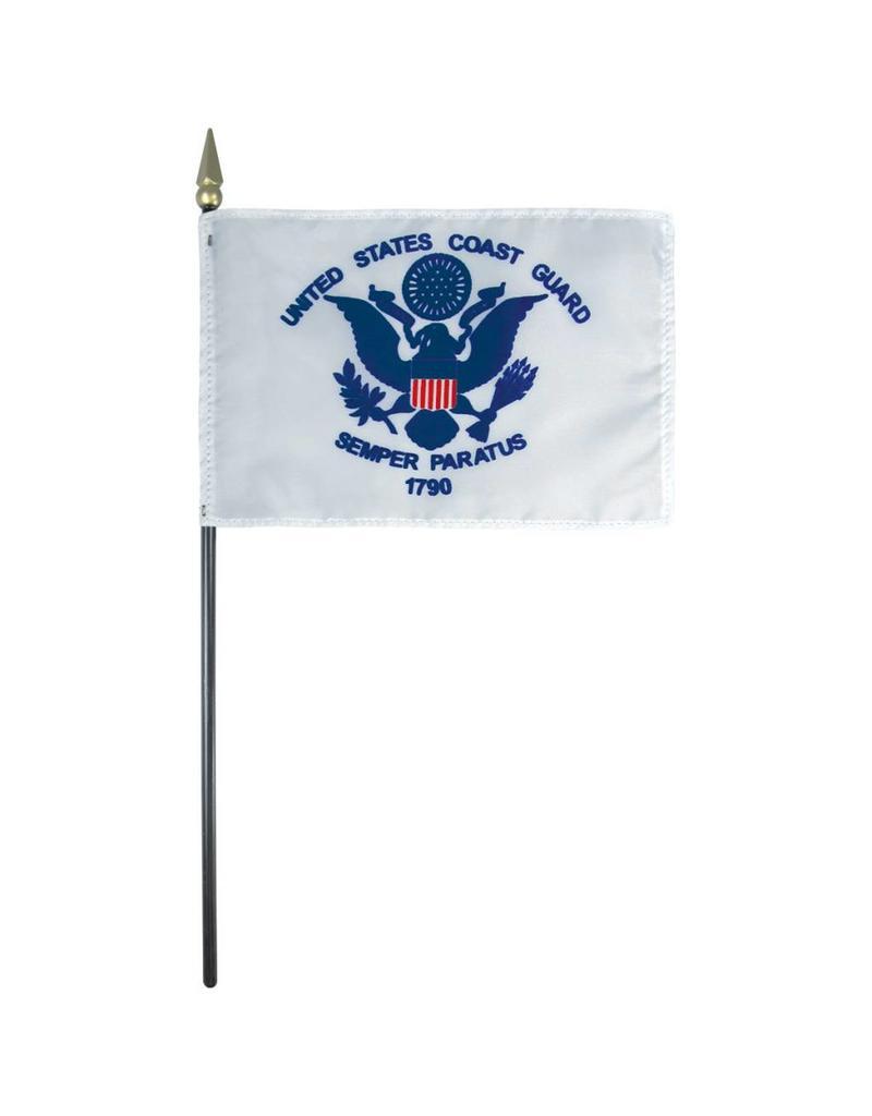 Coast Guard Endura-Poly Stick Flag