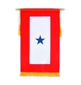 Blue 1 Star Banner
