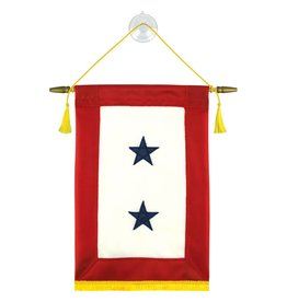 Blue 2 Star Banner