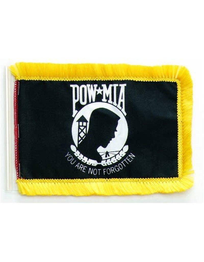 POW*MIA Cotton Aerial Flag with Fringe