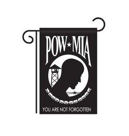 """POW*MIA 12""""x18"""" Nylon Garden Flag"""