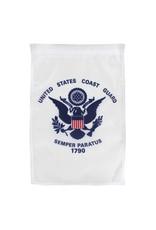"United States Coast Guard 12""x18"" Nylon Garden Flag"