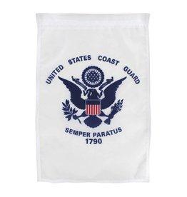 """Coast Guard 12""""x18"""" Nylon Garden Flag"""