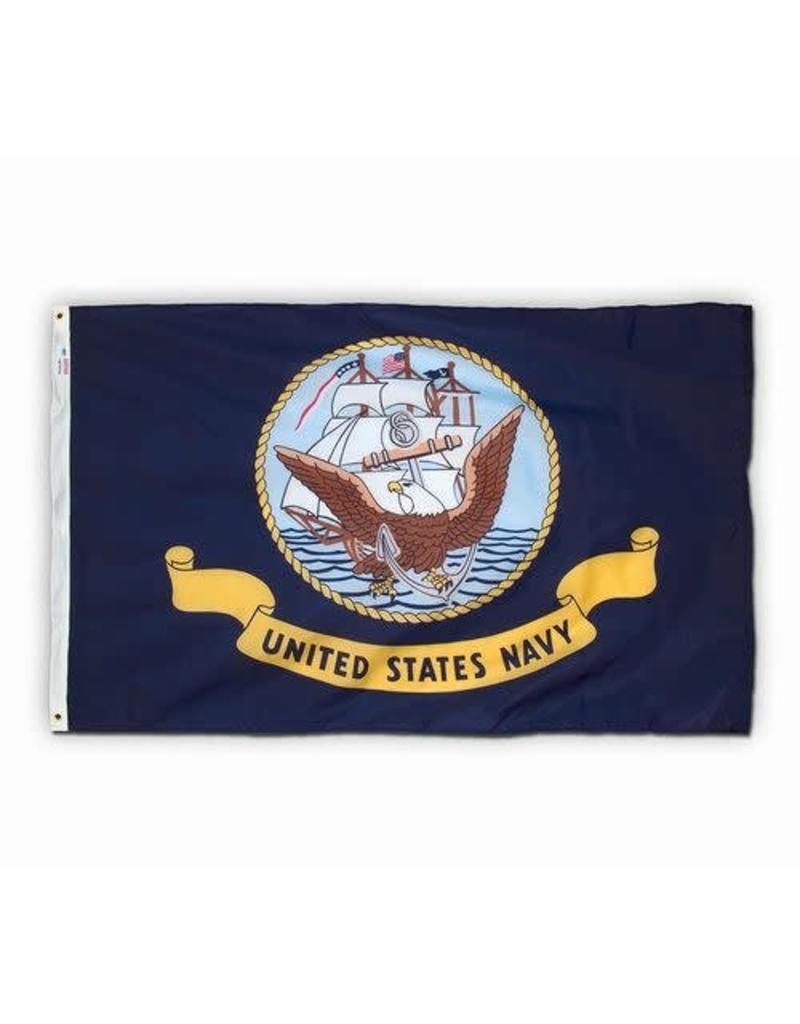 Navy Polyester Flag (Spectrapro)