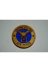 Air Force Crest Wooden Magnet