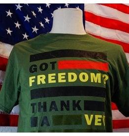 Got Freedom ? Thank A Vet T-Shirt