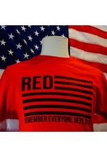 Red Remember Everyone Deployed T-Shirt