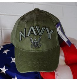 Navy Logo (OD Green) Baseball Cap