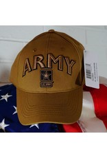 Army w/ Star Baseball Cap (Coyote Brown)