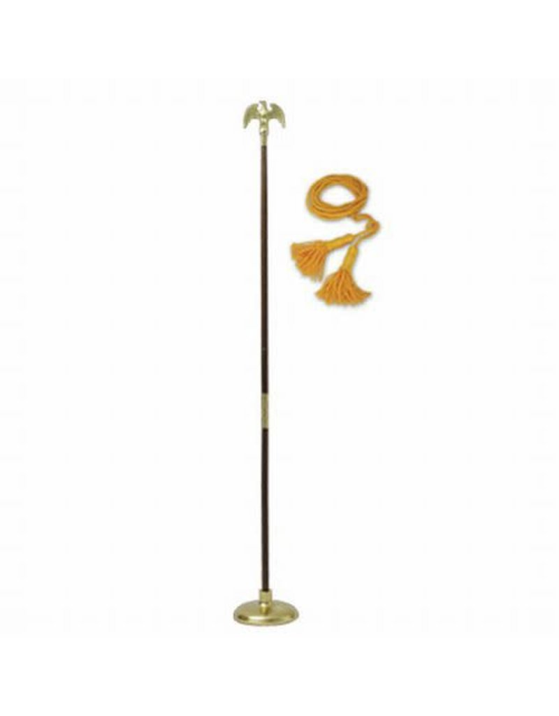 7ft Accessory Set with eagle topper. Flag sold separately.