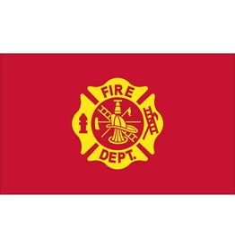 Fire Department 3x5' Nylon Flag