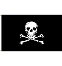 Jolly Roger Nylon Flag