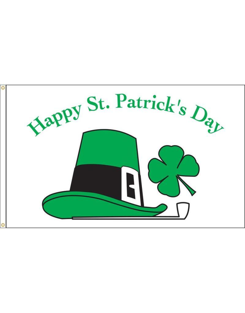 Happy St. Patricks Day 3x5' Nylon Flag