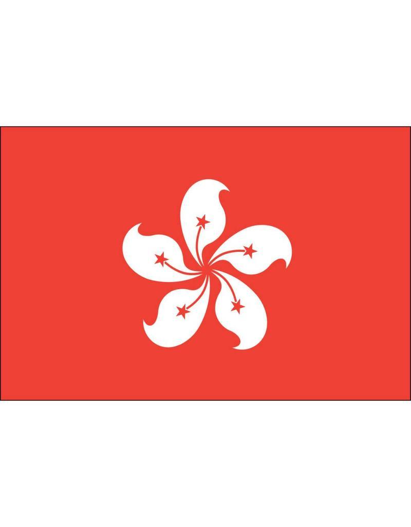 Hong Kong Nylon Flag