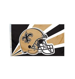 New Orleans Saints 3x5' Polyester Flag