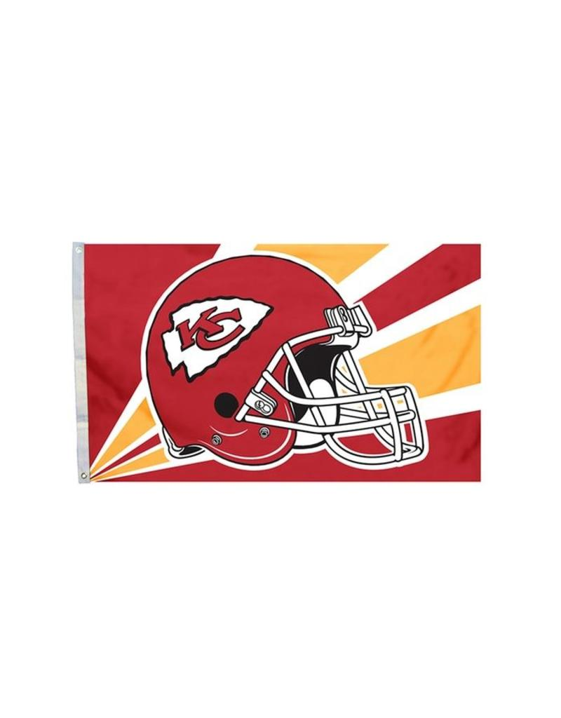 Kansas City Chiefs 3x5' Polyester Flag
