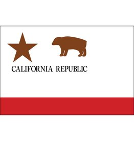 California Republic Historical Nylon Flag 3x5'