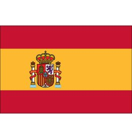 Spain w/ Seal Nylon Flag
