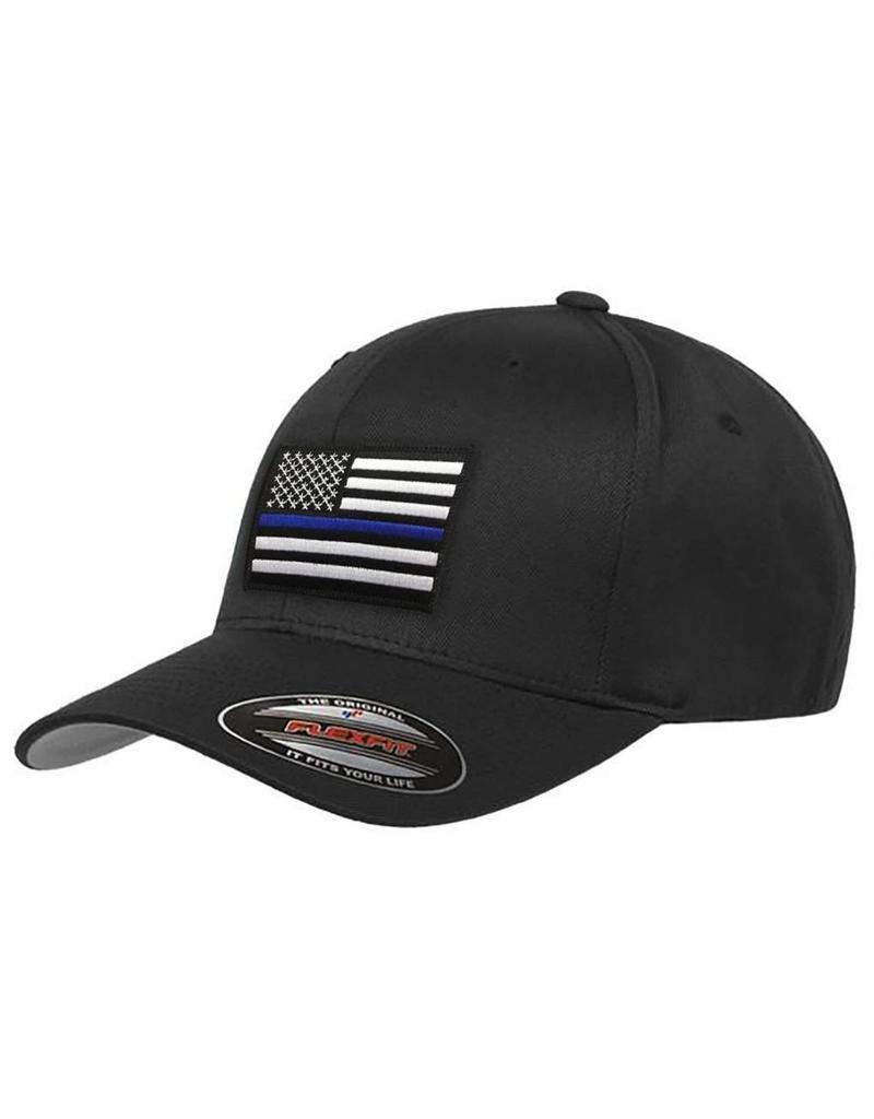 Thin Blue Line Baseball Flex Fit Cap