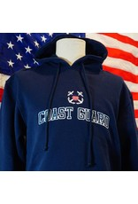 Coast Guard Embroidered Hoodie