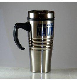 Navy Stainless Steel Travel Mug
