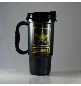 Army Plastic Travel Mug
