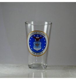 Air Force 16 oz Glass