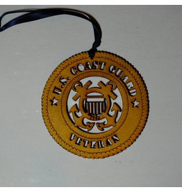 Wilkes Coast Guard Veteran Ornament