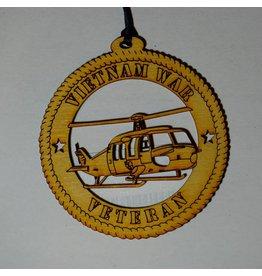 Wilkes Vietnam Veteran Ornament