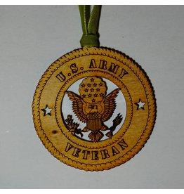 Army Veteran Ornament
