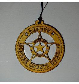 Wilkes Deputy Monroe Cty Ornament