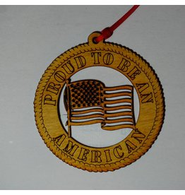 Wilkes Proud To Be An America Ornament