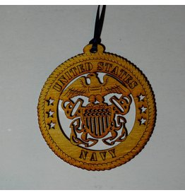 Wilkes Navy Ornament