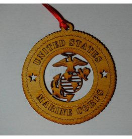 Wilkes Marine Corps Ornament
