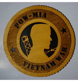 POW/MIA Vietnam LG Plaque Locally Made